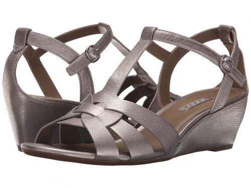ECCO(エコー) レディース 女性用 シューズ 靴 サンダル Rivas 45 Wedge - Moon Rock [並行輸入品]