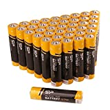 Silicon Power Alkaline Sp/Silicon Power 40 Pack AAA Alkaline Batteries - 1.5V Anti-Leakage Protection (SPAL03ABAT40PV1KAE)