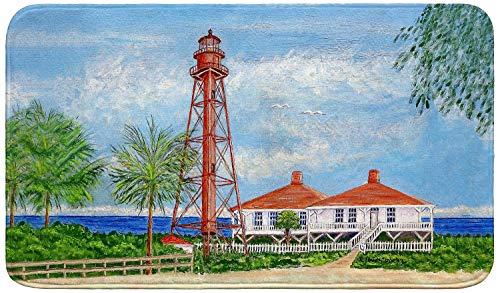 Betsy Drake Sanibel Lighthouse Bath Mat 18x30