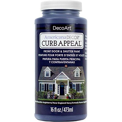 - DecoArt Americana Decor Curb Appeal 16oz NE Navy CurbAppeal16oz
