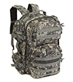 NPUSA Men's Large Expandable Tactical Molle Hydration ReadyBackpack Daypack Bag – ACU Digital Camo For Sale