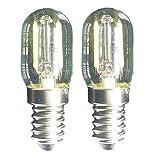 40 watt appliance bulb kenmore - Led Filament Light 1.5w T22 E17 Base Microwave Bulb 125v 20w Equivalent Incandescent Lamps for Refrigerator Microwave Oven Candelabra Lava Desk Light (2 Pack,E17,5000K Daylight)