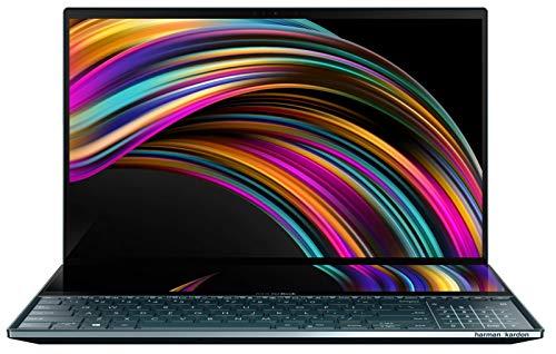 """لپ تاپ """"15.6 ایسوس مدل ZenBook Pro Duo UX581/ پردازنده Intel i9-9980HK/ رم 32GB DDR4/ هارد 2TB SSD/ کارت گرافیک GeForce RTX 2060"""