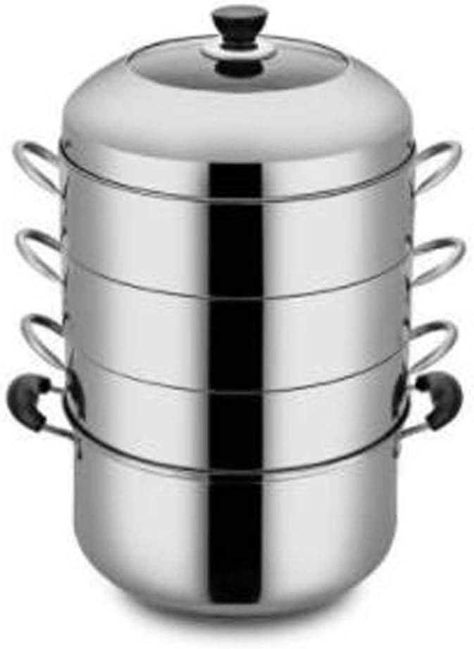 Acero inoxidable Vaporera Food Steamer Pan/acero inoxidable ...
