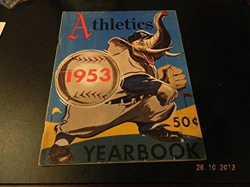 1953 Philadelphia Athletics Yearbook Baseball Vintage Connie Mack & Others