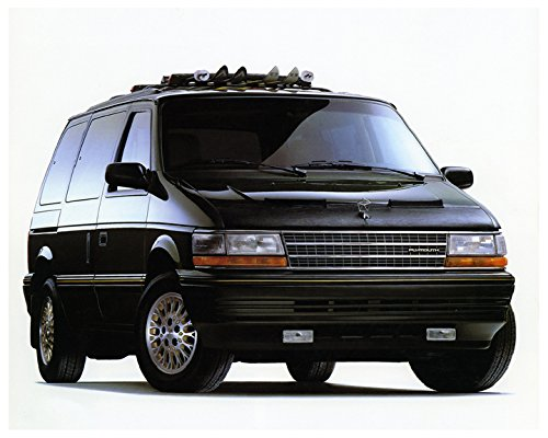1989 1990 1991 1992 Plymouth Voyager Minivan Photo Poster by AutoLit
