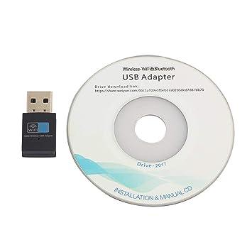 LoveOlvido 300Mbps Mini USB2.0 Adaptador WiFi WiFi Dongle ...