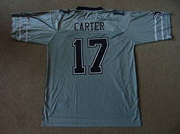 Dallas Cowboys NFL fútbol americano camiseta suplente - Carter #17 - Mens grande - NWT