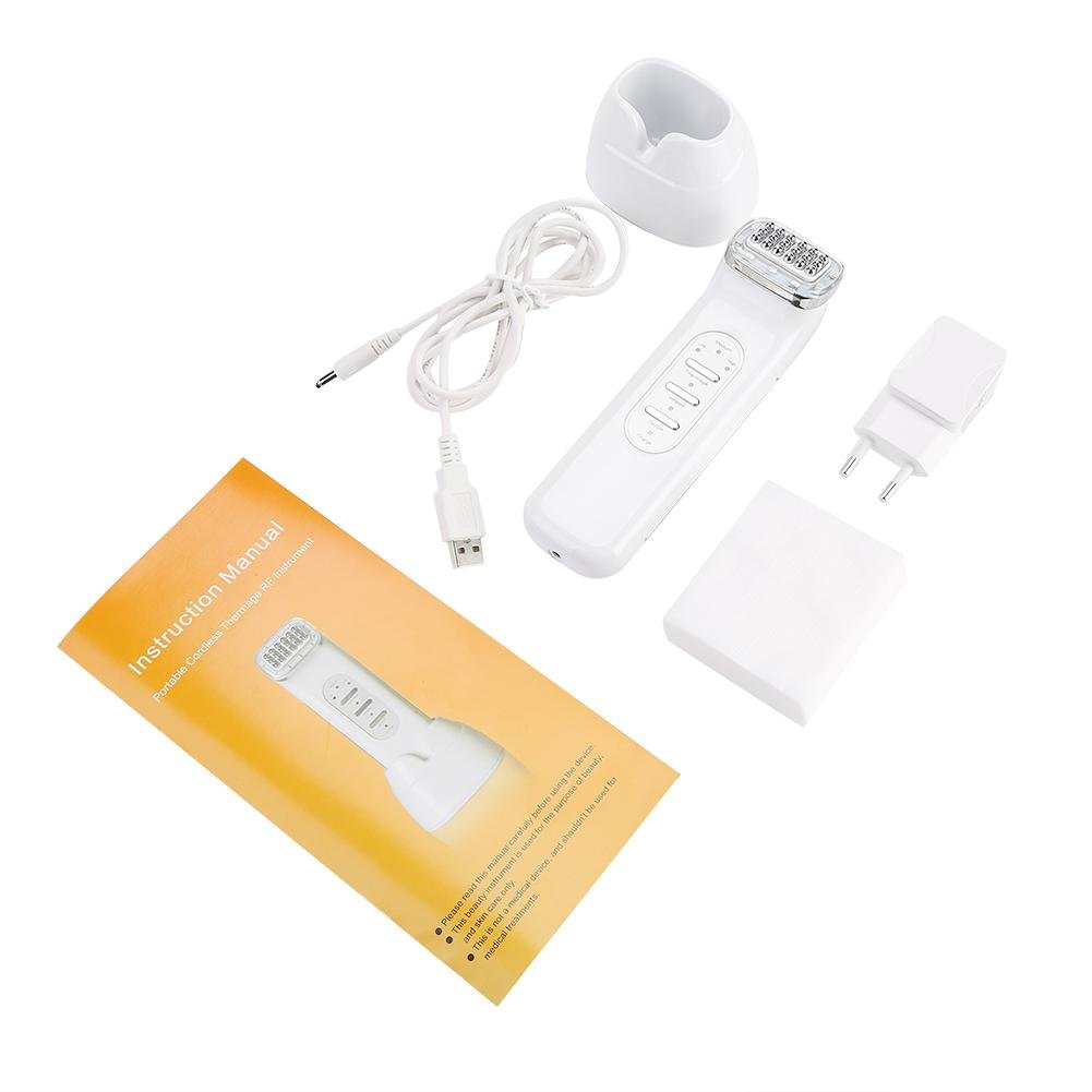 Radio Frequency Facial, Dot Matrix Face Tightening Skin Firming Beauty Tool Handhold and Household for Woman