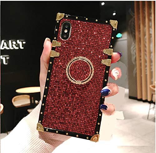 Funda Para Samsung Galaxy A20/A30 Glitter anillo [7TJGCLP5]