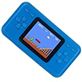 "QINGSHE Handheld Game Console for Kids,Electronics Toys Portable Video Console Player,2.5"" LCD 8-Bit 98 in 1 Classic Retro Games Arcade Video Gaming System,Great Gift Loved by Children Age 4-16 -Blue"