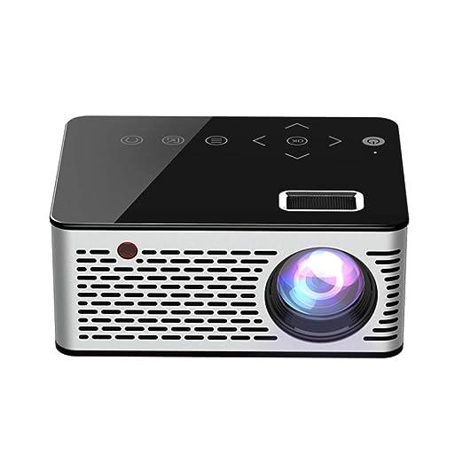 Hemobllo Proyector portátil del Mini proyector T200 1080P LED para ...