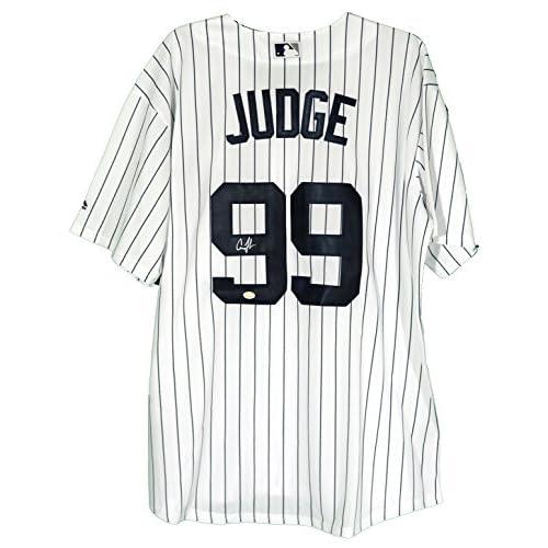 new product 70efa 05125 Aaron Judge New York Yankees Signed Autographed White ...