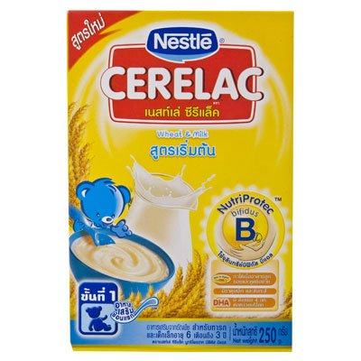 Nestle Cerelac Baby Food Wheat & Milk 250g
