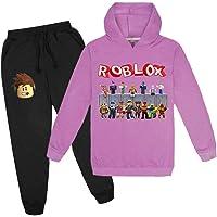 Jongens Unspeakable Games Family 2 Stuks Truien Outfits, Roblox Capuchon Jumper En Broek, Trainingspak Outfits…