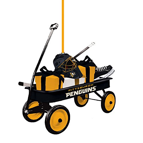 Penguins Ornaments Pittsburgh - Team Sports America Pittsburgh Penguins Team Wagon Ornament