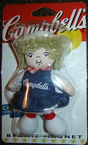 Soup Magnet (Campbells Kids Collectible Beanie Magnet, Campbells Soup Company)