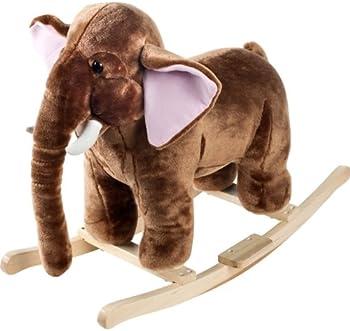 Happy Trails Plush Rocking Mammoth