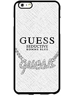 Customized iPhone 6/6s Plus Funda Carcasa Guess Brand Logo Case Cover Protector - iPhone