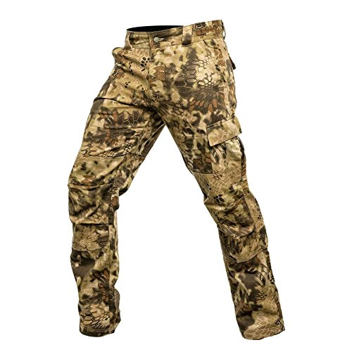Krypek Men's Tactical Stalker Pants with Side Pocket