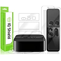 Apple TV 2015 Screen Protector, IQ Shield LiQuidSkin Full Body Skin + Full Coverage Screen Protector for Apple TV 2015 (4th Gen) HD Clear Anti-Bubble Film - with
