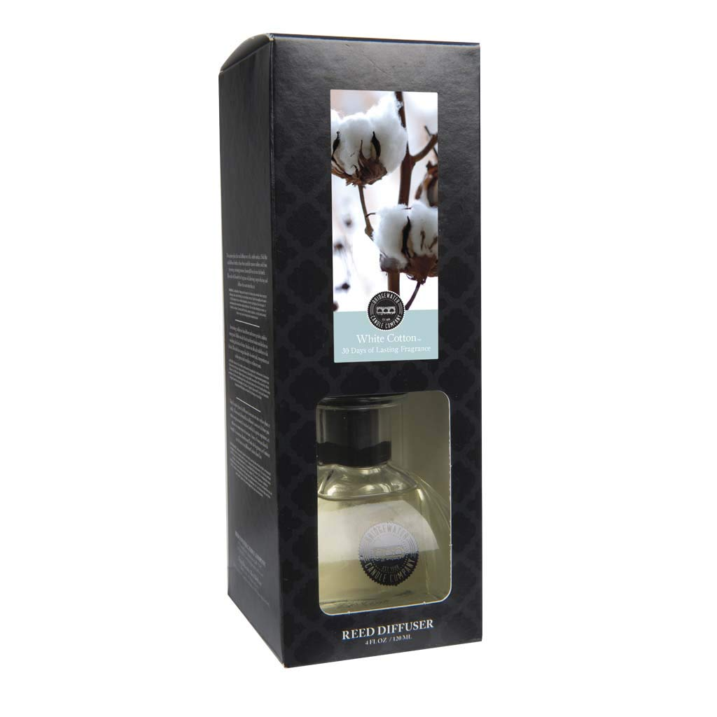 Bridgewater Reed Diffuser Set White Cotton B071VHF8WX