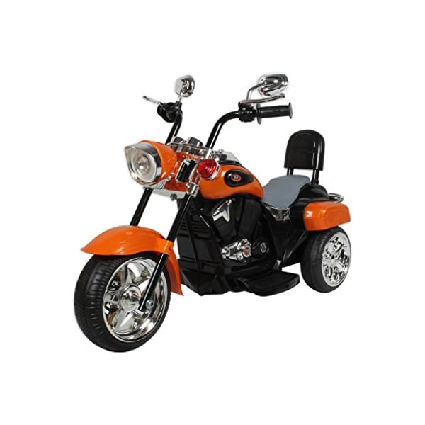 Baybee Battery Operated Cruiser Bike Orange