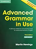 capa de Advanced Grammar in Use with Answers: A Self-Study Reference and Practice Book for Advanced Learners of English