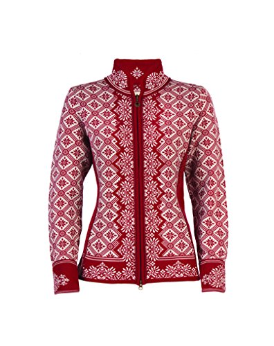 White Norway Donna Off Giacca Dale of Red Rose Rosso Christiania zwHCC4qv