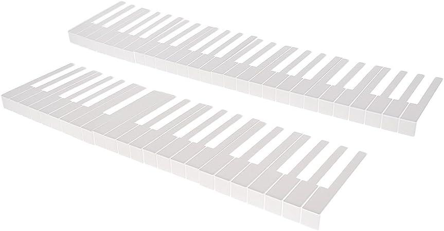 1 Juego De 52 Teclas Teclado De Piano Teclado De Repuesto Kit ...