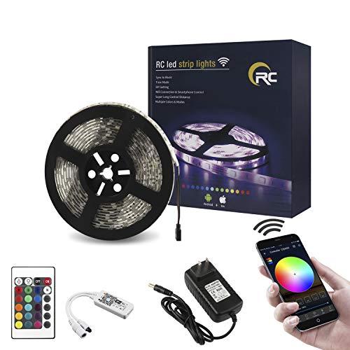 RC-LED-Strip-Lights-Waterproof-Flexible-5050SMD