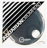 Aquarian Drumheads FFP22BK Full Force Packs 22-inch Bass Drum Head, gloss black