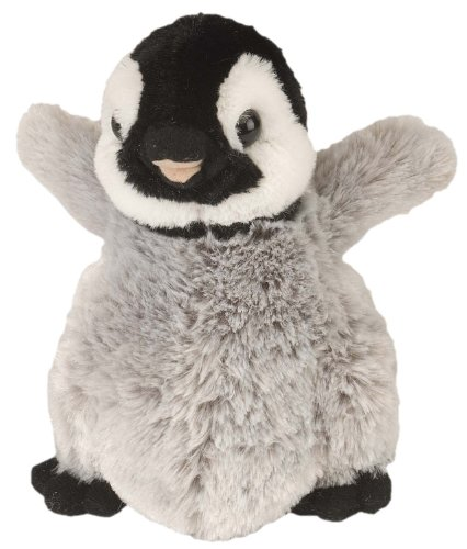 Wild Republic Penguin Plush, Stuffed Animal, Plush Toy, Gifts for Kids, Cuddlekins 8 inches (Shut Up And Kiss Me In French)