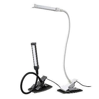 Lampe Clip Led De Lumières Sunsetglow Lumière Bureau Livre Stand OXuZTPki