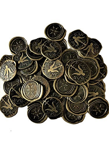 Widows Mite Bronze Coin - Widow's Mite Coins Reproduction Antique Bronze Bags of 50