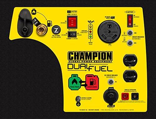 Champion 3400-Watt Dual Fuel RV Ready Portable Inverter Generator with Electric Start 51oQTOJ4aIL