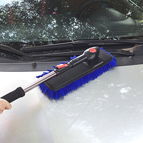 Clystorm Car Cleaning Wash Brush Duster Microfiber Brush