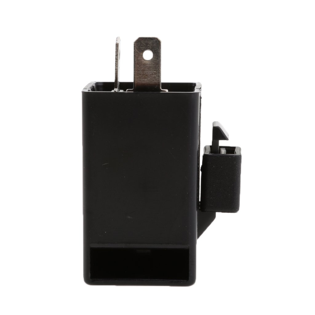 Dovewill Motorcycle Motor Turn Signal Blinker Electronic Flasher Relay Flash 6-12V 2 Pin