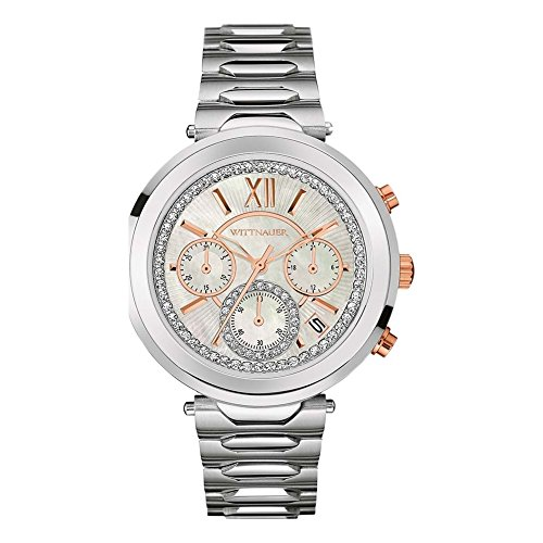 Used, Wittnauer WN4029 Ladies Taylor Steel Chronograph Watch for sale  Delivered anywhere in USA