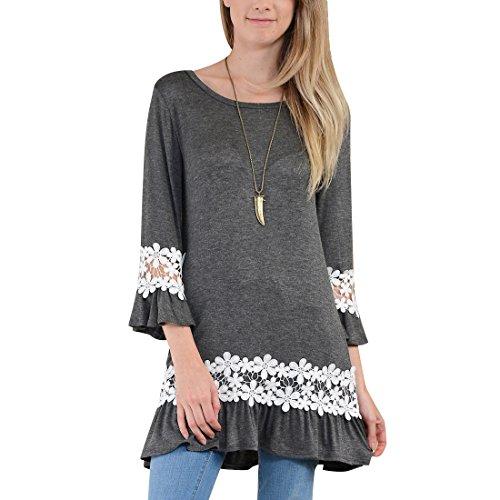 Buy bell sleeve dress sewing pattern - 6