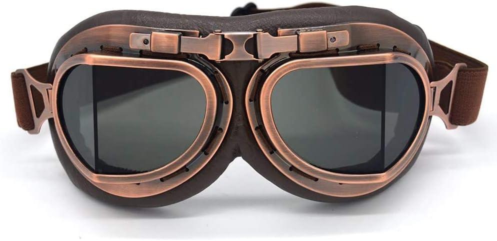 evomosa Vintage Pilot Style Goggles
