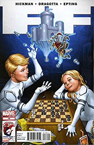 FF #16 VF/NM ; Marvel comic book (Alex Hickman)