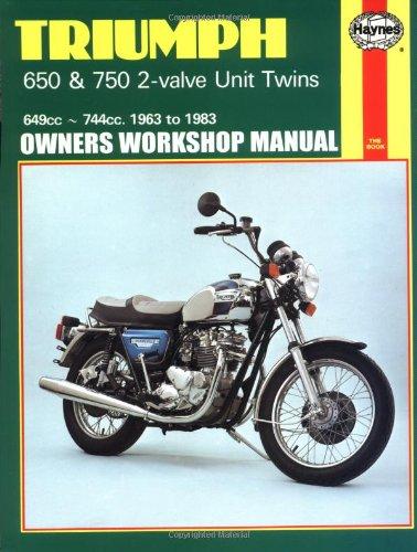 Triumph 2-Valve Unit Twins, 1963-83 (Haynes Repair Manuals)
