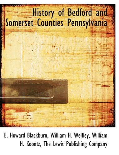 nd Somerset Counties Pennsylvania (Somerset Pennsylvania)