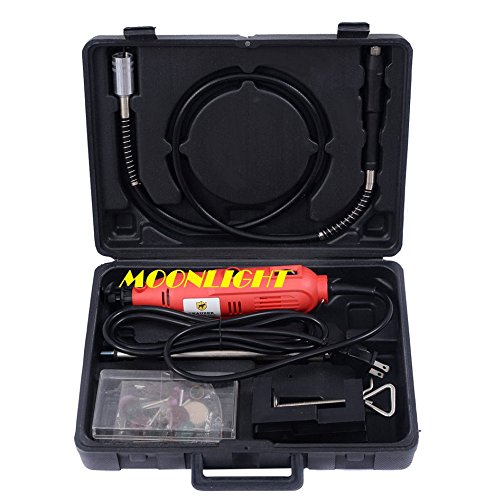 Flexshaft Rotary Tool Kit Variable Speed 40pcs Accessories A
