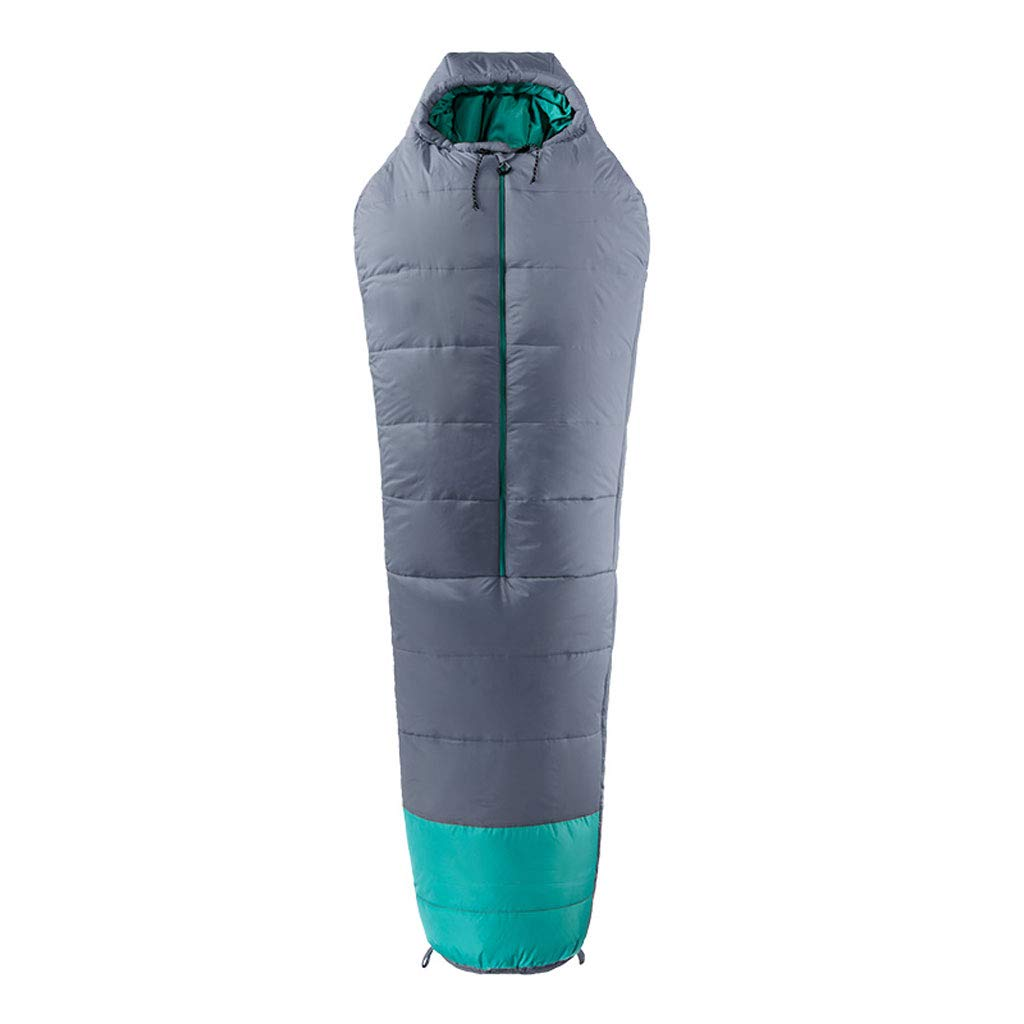 LCSHAN 寝袋ポリエステルポリエステル屋外キャンプ屋外四季成人多機能 (容量 : B, 色 : Gray) B07L6G66PQ Gray B