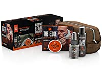 Ultimate Beard Grooming Collection For Men by Wild Willies. Includes Beard Oil, Beard Balm Conditioner, Beard Wash Shampoo, Shaping Tool and Travel Dopp Bag. Committed to Conscious Sourcing. USA made