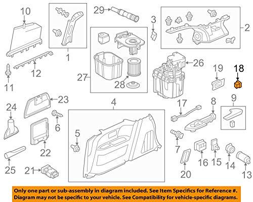 Honda 39119-TK8-A02ZC - Soporte para clavijas Hdmi