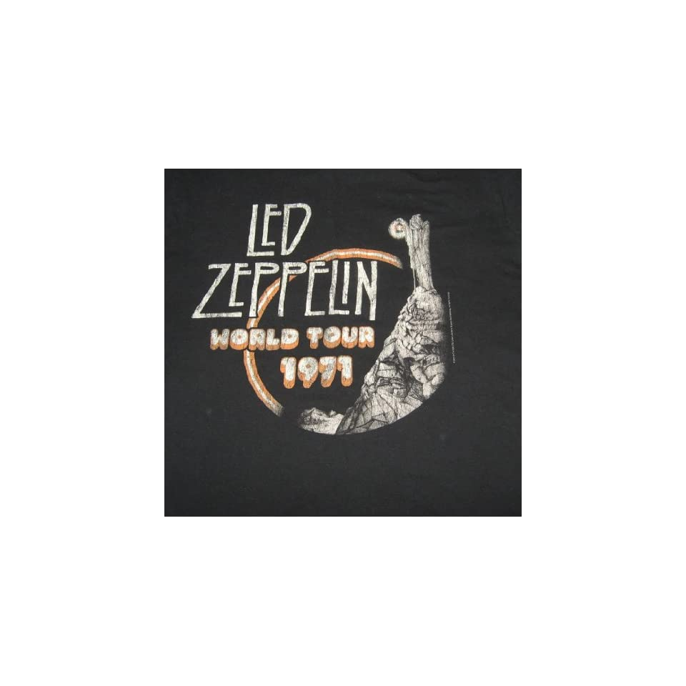 Medium T shirt LED Zeppelin   World Tour 1971