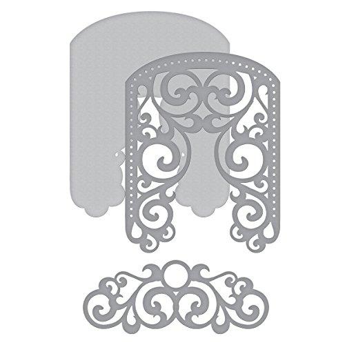 Filigree 3d - Spellbinders Shapeabilities Filigree Veil Etched/Wafer Thin Die